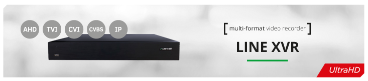 Multi-format Line XVR video recorder