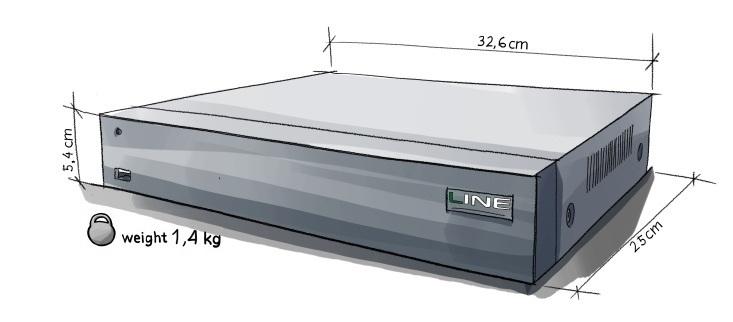 Line XVR 16 H.265
