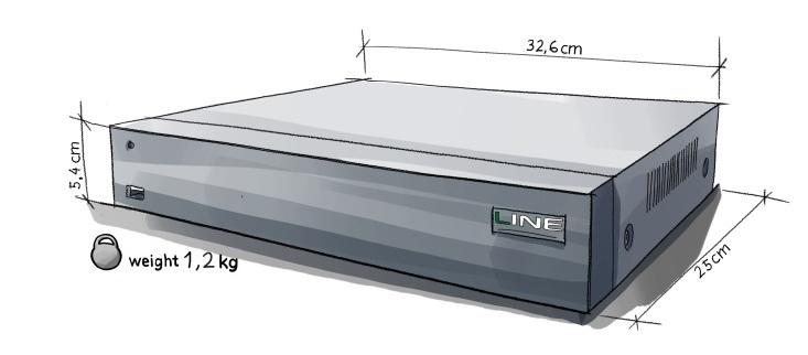 Line XVR 8 H.265