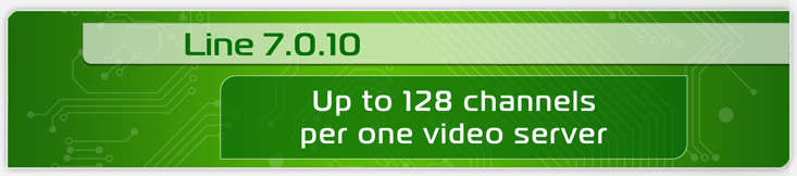 128 channels per one video server