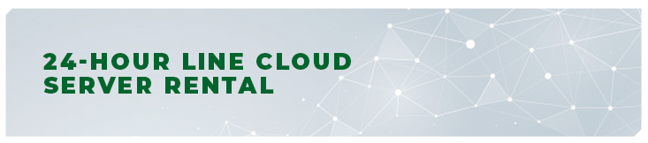 24-hour cloud server rental from EUR 0.10 a day